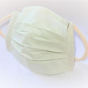 東郷オリジナル/綿絹織物のエチケットマスク(メロン)