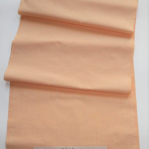 ざらざ織り(縞・淡オレンジ)