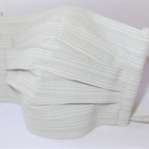 東郷オリジナル/綿絹織物のエチケットマスク(さわやかミント)