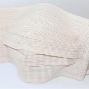 東郷オリジナル/綿絹織物のエチケットマスク(さわやかピーチ)