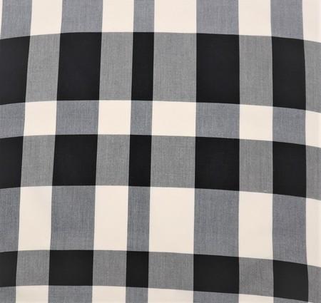 綿さつま/黒と白の無作為な横段