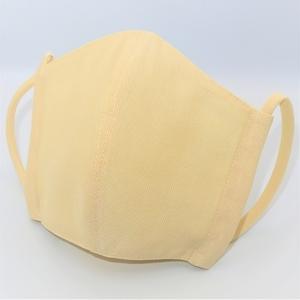 東郷オリジナル/夏大島シルクのクールマスク(クリーム)