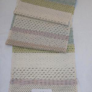 手織りさつま絣・7種の絣使い