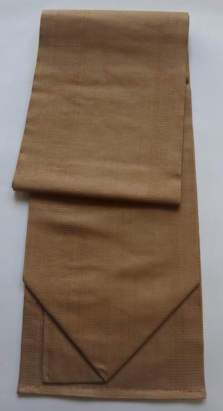 変わり織り(キャメル) / 平仕立て帯